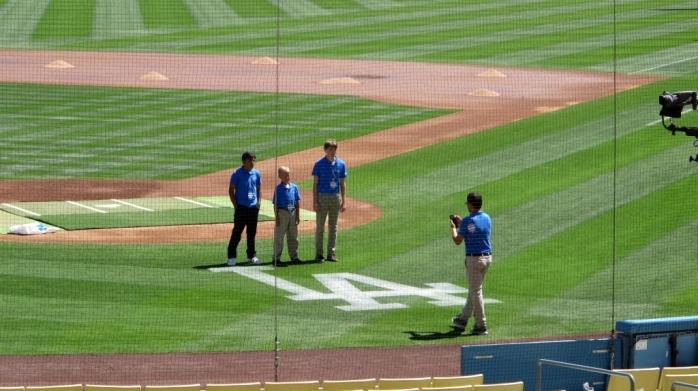 Dodger Stadium Jr. Broadcast Team