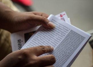 Sina reading John 6:47