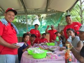 A day of food and fellowhip with the Battambang guys.